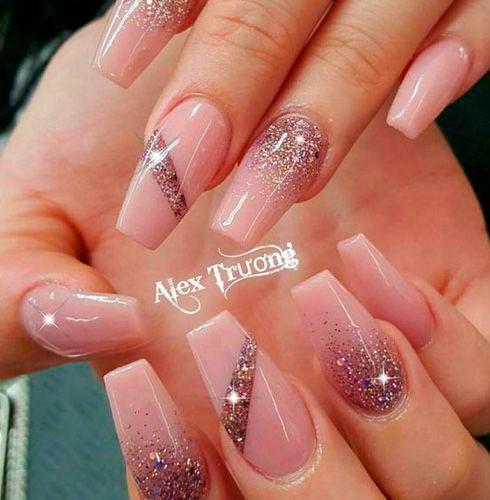 фото ногтей с дизайном балерина