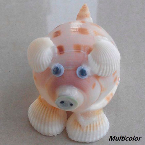 детская поделка свитка из ракушек