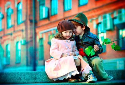 маленькая леди и джентельмен