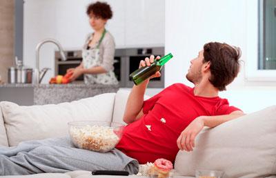 Муж пьет пиво, нужен совет что делать
