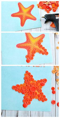 морская звезда для малышей