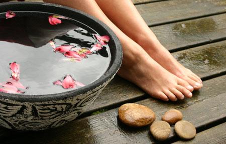 ванночки для ног от трещин на пятках