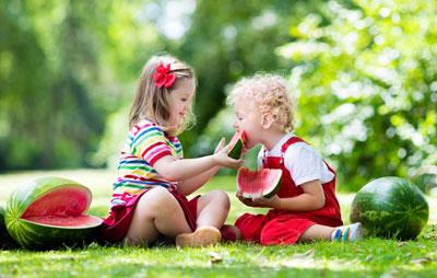детские загадки про фрукты, овощи и ягоды