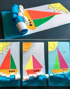 Поделка корабль для детей