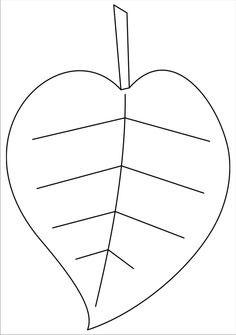 Шаблоны листьев для вырезания из бумаги для детей 8-9 лет