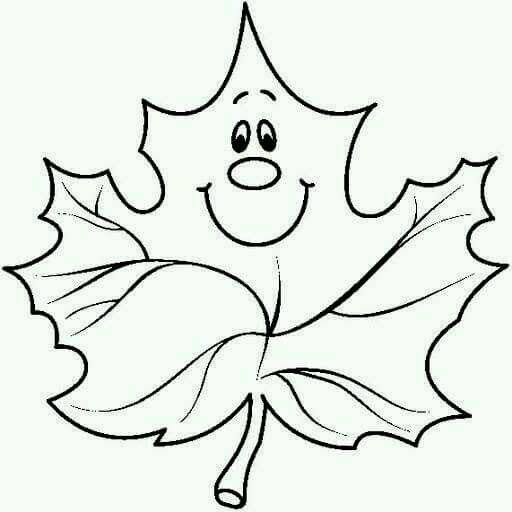 красивый кленовый лист для вырезания из бумаги