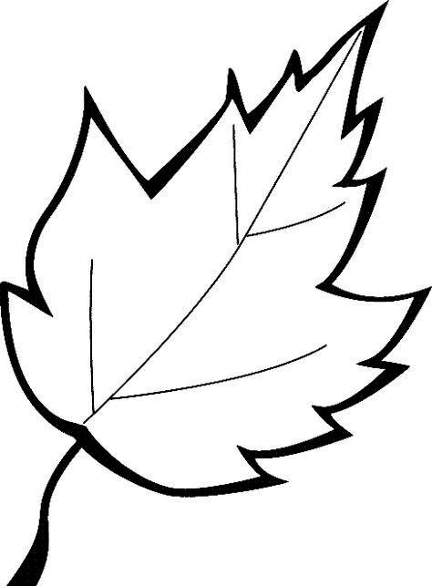 Шаблоны листьев для вырезания из бумаги для детей 4-5 лет