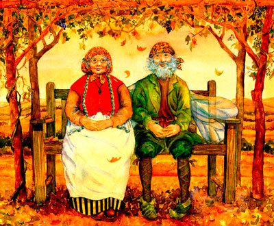 Изображение - Поздравление с днем пожилого человека в стихах от детей 85760