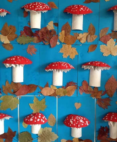 аппликация на тему осень для детского сада в младшей группе