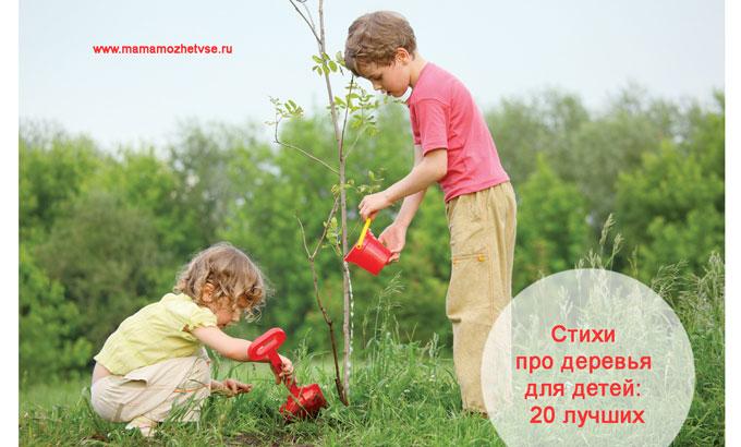 Стихи про деревья для детей