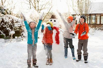 детские стихи про первый снег