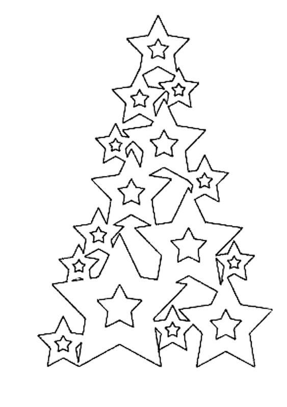Новогодние трафареты из бумаги для окон