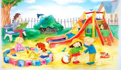 Короткие стихи про детский сад для малышей