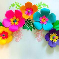 идеи изготовления цветов из бумаги с пошаговым фото