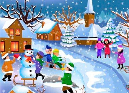 30 лучших стихов про зиму для детей