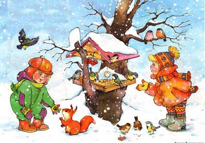Зимние приметы погоды