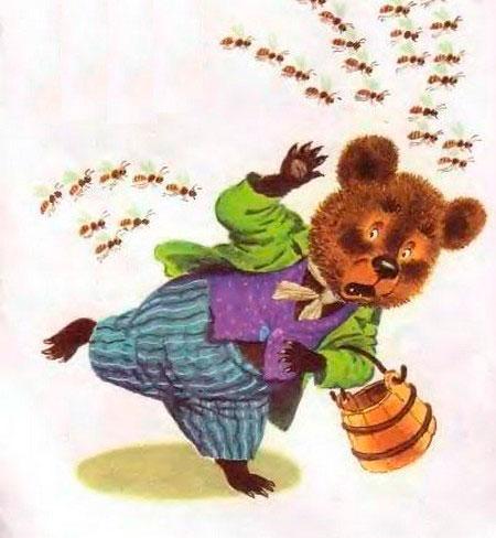 Стихи про медведя для детского сада