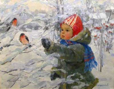 Загадки про снегиря для детей школьного возраста