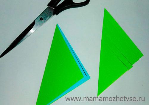Идеи бумажной елки