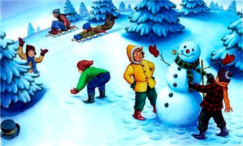 8 загадок про январь для детей