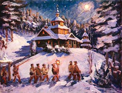 Колядки на Рождество для детей школьного возраста
