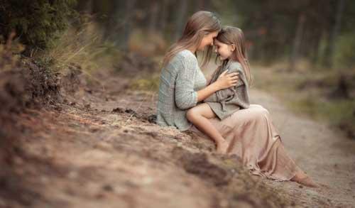 ребенок уважает маму и папу