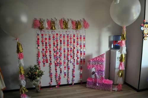 детский день рождения в домашних условиях: на 1 годик