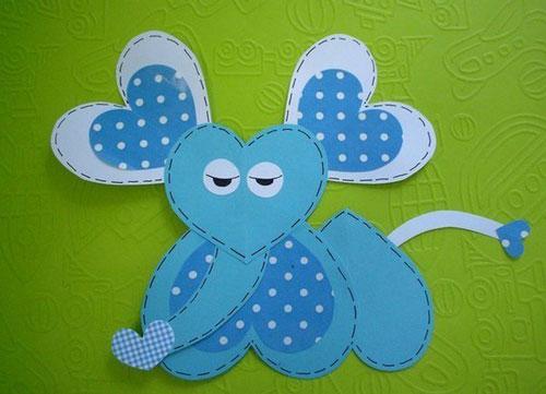 валентинки из бумаги для детей 5-6 лет