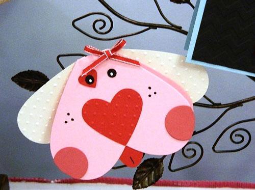 валентинки из бумаги для детей 6-7 лет