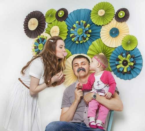 детский день рождения в домашних условиях: фотозона 10