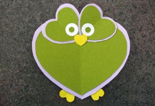 валентинки из бумаги для детей 8-9 лет