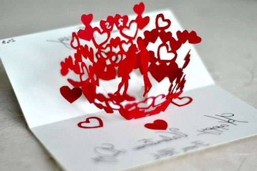 очень красивая валентинка
