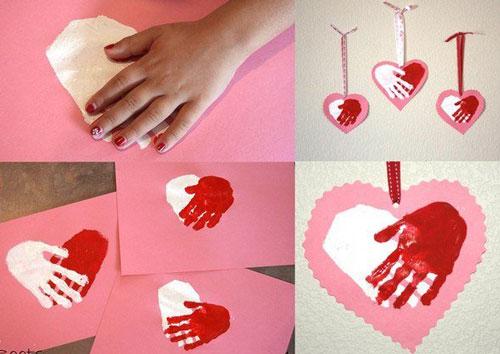 детские валентинки из бумаги в садик