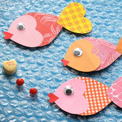 валентинки из бумаги для детей 9-10 лет