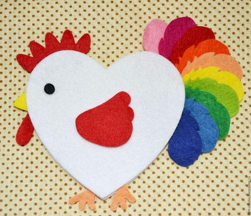 детские валентинки из бумаги для 3-4 лет