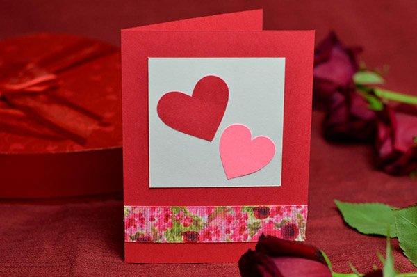 бумажные валентинки для детей 6-7 лет