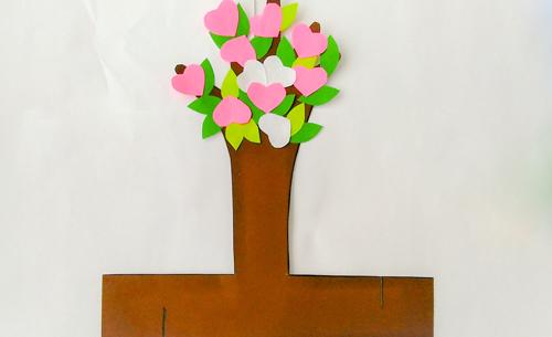 детская поделка дерево из бумаги 3