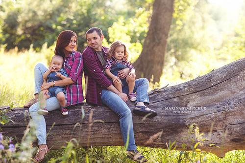 семейная фотосессия с детьми: лучшие идеи