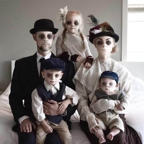 нестандартные идеи для семейной фотосессии с детьми 2