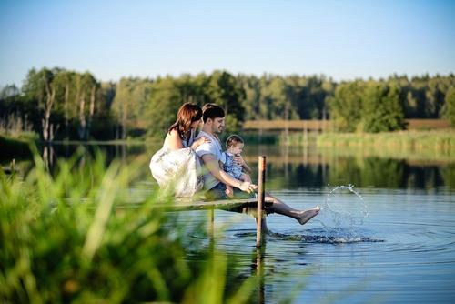 идеи для семейной фотосессии с детьми на природе 2