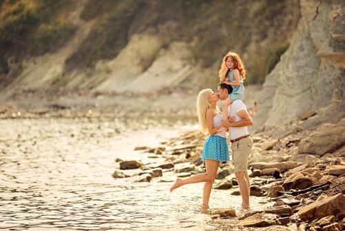 идеи для семейной фотосессии с детьми на море 4
