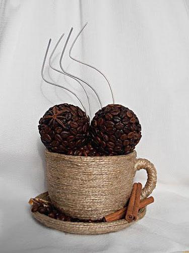 кружка кофе - поделка