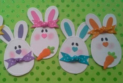 Простые поделки из бумаги на Пасху для детей
