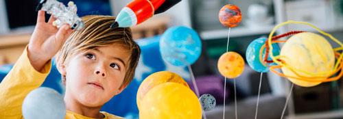 Красивые стихи про космос для детей