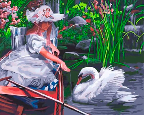 Интересные загадки про лебедя для детей 5-7 лет