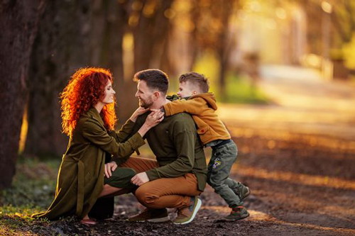 идеи для семейной фотосессии с ребенком