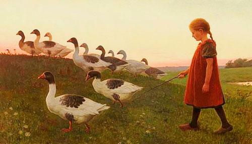 Стихи про гуся для детей 5-7 лет
