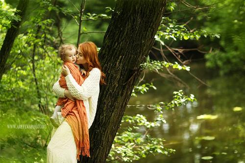 идеи для семейной фотосессии с детьми на берегу реки 2