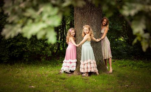 семейная фотосессия с детьми в парке: лучшие идеи