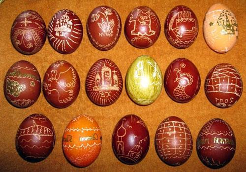 Красим яйца на Пасху: оригинальные идеи с помощью гравировки
